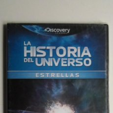 Cine: LA HISTORIA DEL UNIVERSO (ESTRELLAS) [DVD DISCOVERY CHANNEL PRECINTADO]. Lote 147568890