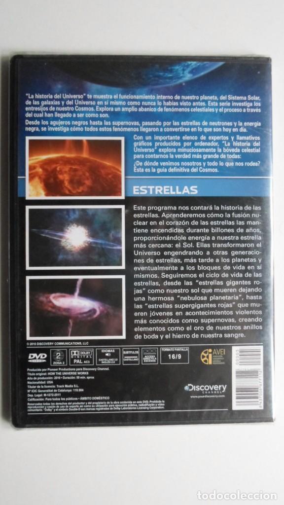 Cine: LA HISTORIA DEL UNIVERSO (ESTRELLAS) [DVD DISCOVERY CHANNEL PRECINTADO] - Foto 2 - 147568890