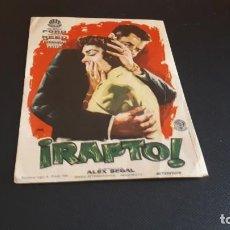 Cine: PROGRAMA DE MANO ORIG - RAPTO - SIN CINE. Lote 147582674