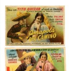 Cine: AMAPOLA DEL CAMINO, CON TITO GUIZAR.. Lote 147600598
