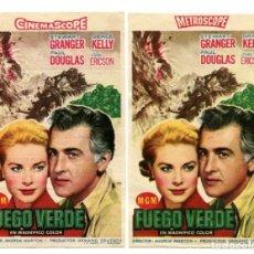 Cine: FUEGO VERDE, CON STEWART GRANGER.. Lote 147654310