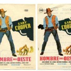 Cine: HOMBRE DEL OESTE, CON GARY COOPER.. Lote 147657130