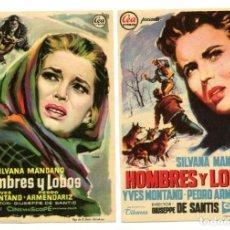 Cine: HOMBRES Y LOBOS, CON SILVANA MANGANO.. Lote 147756018