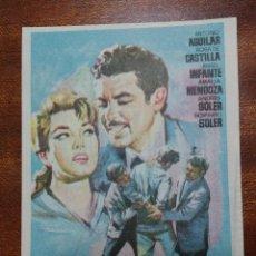 Cine: PROGRAMA DE CINE YO...EL AVENTURERO - ANTONIO AGUILAR - ROSA DE CASTILLA. Lote 147764638