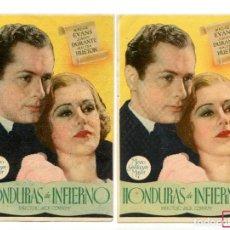 Cine: HONDURAS DE INFIERNO, CON MADGE EVANS.. Lote 147773906