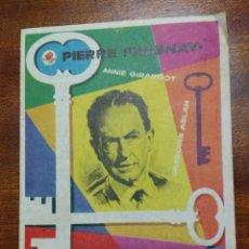 Cine: PROGRAMA DE CINE 1958 EL HOMBRE DE LAS LLAVES DE ORO - ANNIE GIRARDOT - PIERRE FRESNAY. Lote 147773942