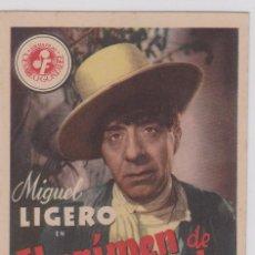 Cine: PROGRAMA DE MANO ORIGINAL EL CRÍMEN DE PEPE CONDE (SIN CINE). Lote 147833066