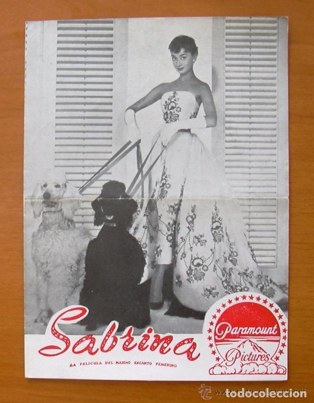 PROGRAMA LOCAL - SABRINA - PROGRAMA CONCURSO PARA ELEGIR A LA SABRINA VALENCIANA (Cine - Folletos de Mano - Comedia)
