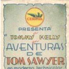 Cine: AVENTURAS DE TOM SAWYER. Lote 147871058