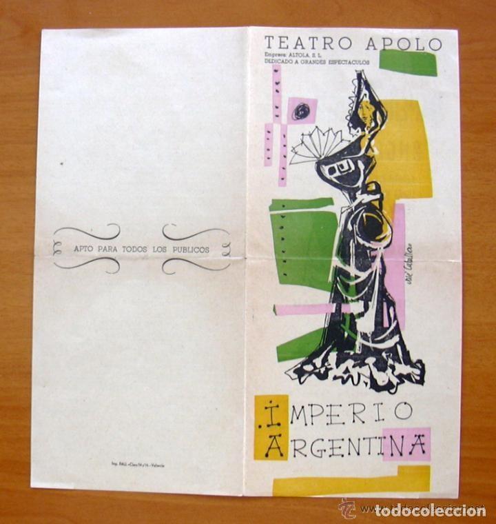 Cine: Imperio Argentina en el Teatro Apolo de Valencia - Ver fotos adicionales - Foto 2 - 147872730