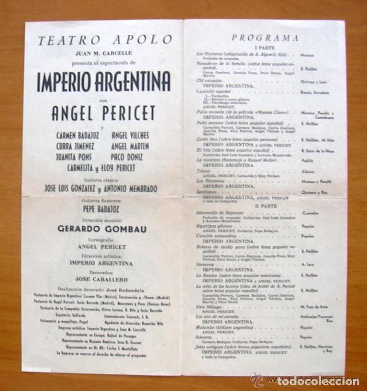Cine: Imperio Argentina en el Teatro Apolo de Valencia - Ver fotos adicionales - Foto 3 - 147872730
