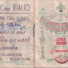 Cine: LA ZAPATILLA DE CRISTAL. Lote 147874010
