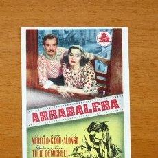 Cine: ARRABALERA - TITA MERELLO, SANTIAGO G.COU, TITO ALONSO. Lote 147895750