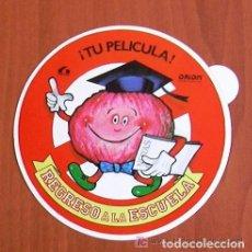 Cine: REGRESO A LA ESCUELA - PELICULA DE 1986 - PROGRAMA TROQUELADO. Lote 147898874
