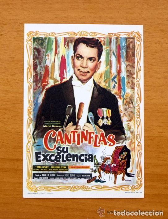SU EXCELENCIA - CANTINFLAS, SONIA INFANTE (Cine - Folletos de Mano - Comedia)