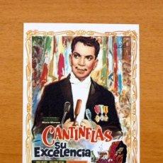 Cine: SU EXCELENCIA - CANTINFLAS, SONIA INFANTE. Lote 147899918