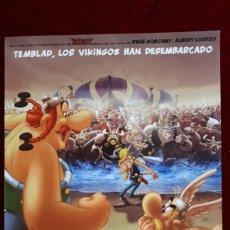 Cine: FOLLETO ASTÉRIX Y LOS VIKINGOS.. Lote 148140292