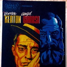 Cine: EL MODERNO BARBA AZUL- BUSTER KEATON- DISEÑO JOSEP RENAU.. Lote 148191066