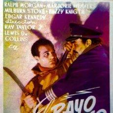 Cine: EL RAYO ATOMICO- 1º Y 2º JORNADA-. Lote 148199594