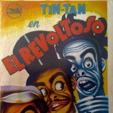 Cine: EL REVOLTOSO- TINT-TAN. CINES VICTORIA Y MARIN (TERUEL) 13 ENERO DE 1954. Lote 148201210