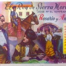 Cine: EL REY DE SIERRA MORENA, JOSE Mª EL TREMPANILLO-. Lote 148203746