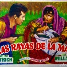 Cine: EN LAS RAYAS DE LA MANO. Lote 148215254