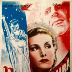 Cine: LA VIDA FUTURA- CINES ASTORIA-ATLANTA DE BARCELONA. Lote 148223066