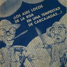 Cine: LOS AGUAFIESTAS- DOBLE- FOLLETO DE MANO. Lote 148224446