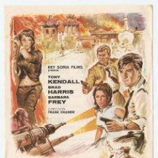 Cine: LAS GARRAS DEL DRAGÓN ROJO - TONY KENDALL, BRAD HARRIS, BARBARA BREY - DIRECTOR FRANK KRAMER. Lote 148291414