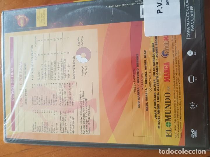 Cine: DVD del cuarto partido España versus Portugal Sudáfrica 2010 precintado - Foto 2 - 148317094