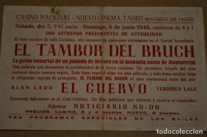 Cine: EL TAMBOR DEL BRUCH. ANA MARISCAL - CARLOS AGOSTI. LITERACOMIC. - Foto 2 - 148410854