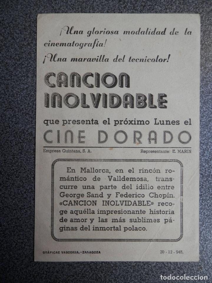 Cine: PROGRAMA CINE PUBLICIDAD: CANCIÓN INOLVIDABLE - Foto 2 - 148713793