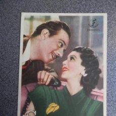 Folhetos de mão de filmes antigos de cinema: PROGRAMA CINE PUBLICIDAD: CAPRICHOS DE MADAME. Lote 148714409