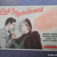 Cinema - PROGRAMA CINE PUBLICIDAD: LAS REVOLTOSAS - 148714433