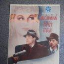 Cine: PROGRAMA CINE PUBLICIDAD: ESPÍAS EN ACCIÓN. Lote 148714553