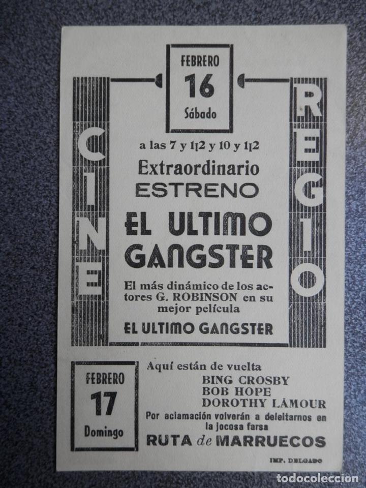 Cine: PROGRAMA CINE PUBLICIDAD: EL ÚLTIMO GANGSTER - Foto 2 - 148714565