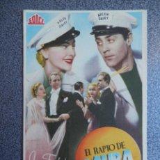 Cine: PROGRAMA CINE PUBLICIDAD: EL RAPTO DE LAURA. Lote 148714689
