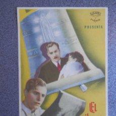 Flyers Publicitaires de films Anciens: PROGRAMA CINE PUBLICIDAD: EL MILAGRO DE FÁTIMA. Lote 148714793