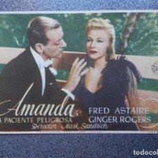 Cine: PROGRAMA CINE PUBLICIDAD: AMANDA. Lote 148714805