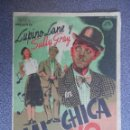 Cine: PROGRAMA CINE PUBLICIDAD: MI CHICA Y YO. Lote 148715041