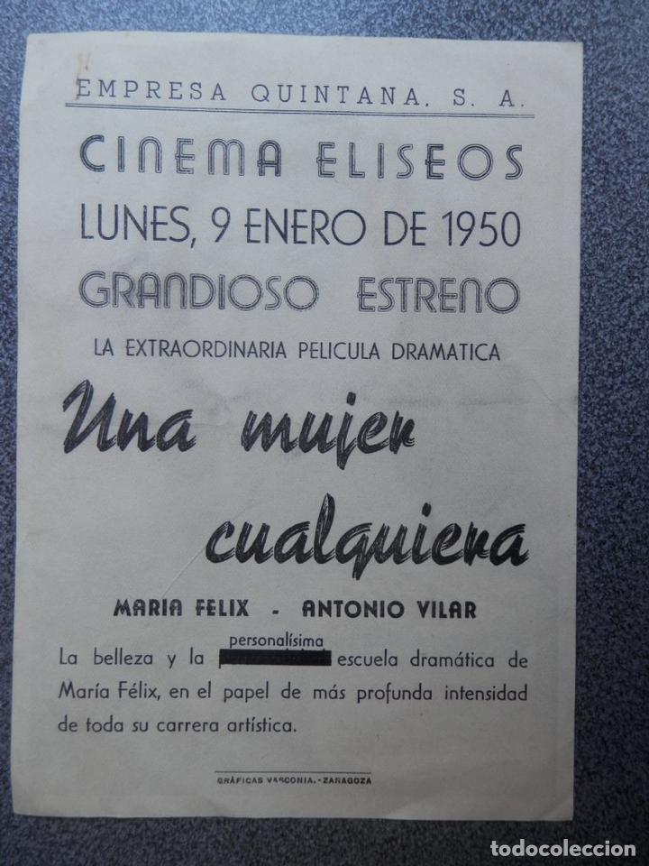 Cine: PROGRAMA CINE PUBLICIDAD: UNA MUJER CUALQUIERA - Foto 2 - 148715049