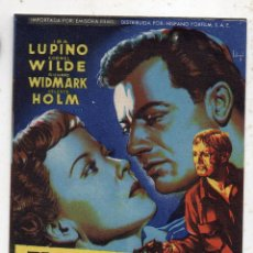 Cine: EL PARADOR DEL CAMINO. IDA LUPINO, CORNEL WILDE, CELESTE HOLM.... Lote 148912790