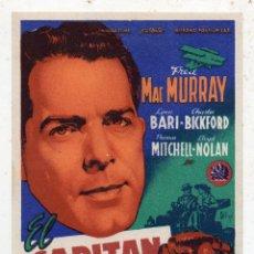 Cine: EL CAPITÁN EDDIE. FRED MC MURRAY, LYNN BARI, LLOYD NOLAN.... Lote 149012950