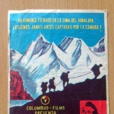 Cine: TORMENTA SOBRE EL TIBET. Lote 149215266