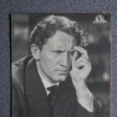 Cine: PROGRAMA CINE DOBLE: EDISON EL HOMBRE, CON SPENCER TRACY, CLARENCE BROWN. Lote 149339009