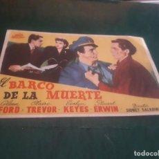 Cinema - PROGRAMA DE MANO ORIG - EL BARCO DE LA MUERTE - SIN CINE - 149605758