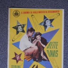 Foglietti di film di film antichi di cinema: PROGRAMA DE CINE: LA ESTRELLA CINE DORADO ZARAGOZA. Lote 149771428