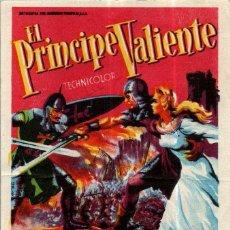 Cine: PROGRAMA CINE: EL PRÍNCIPE VALIENTE, JAMES MASON, JANET LEIGH. Lote 149830250