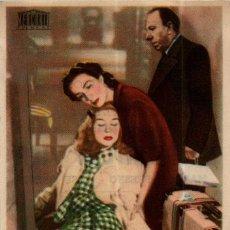Cine: PROGRAMA CINE: LA FAMILIA VILA, MARLICHI FRESNO, JOSÉ ISBERT. Lote 149830278