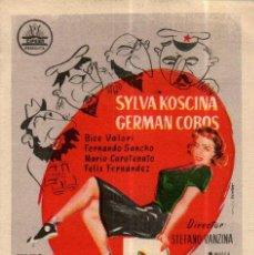 Cine: PROGRAMA CINE: OPERACIÓN POPOFF, SYLVA KOSCINA, GERMAN COBOS. Lote 149830310